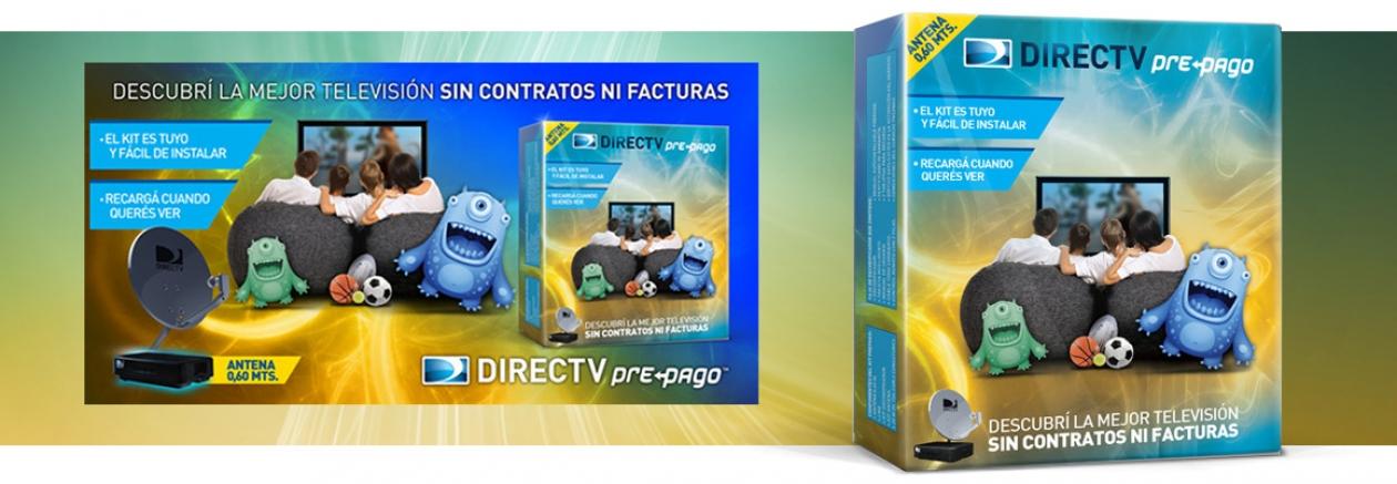 Packaging Antena DirecTV Pre-pago