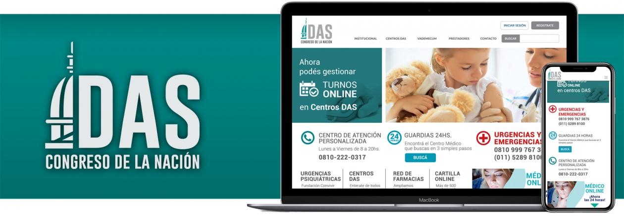 Website Das Salud