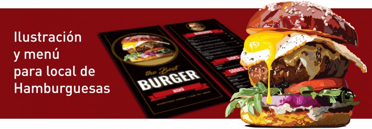Burger Menú