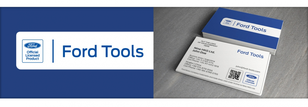 Ford Tools brand guideline