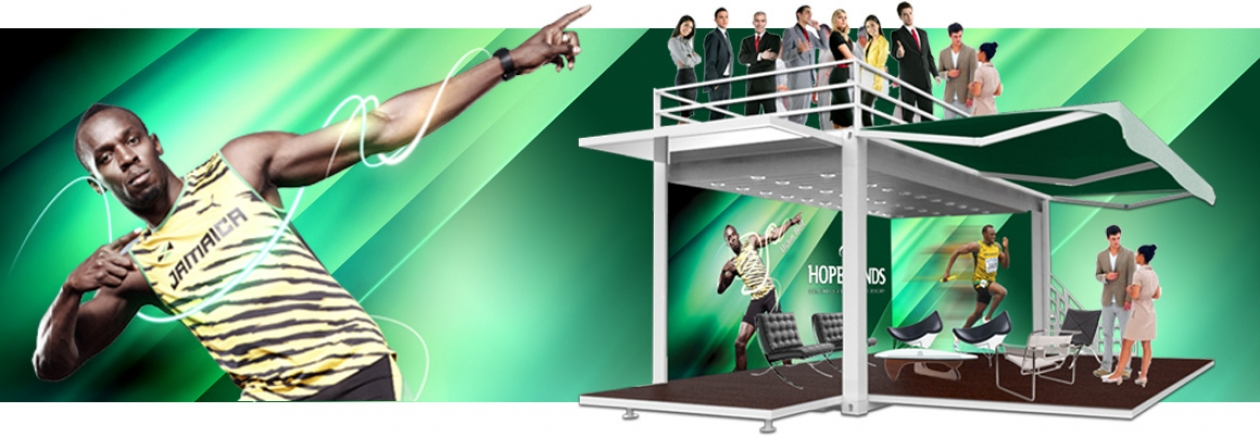 hope funds stand y promocionales