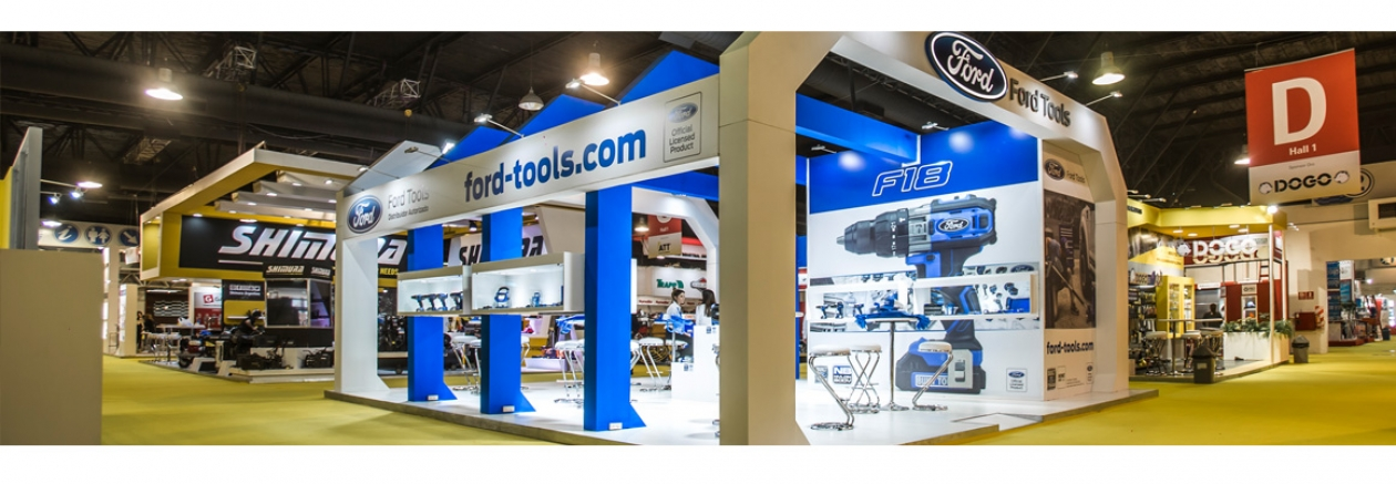 Ford Tools Booth - Expoferretera
